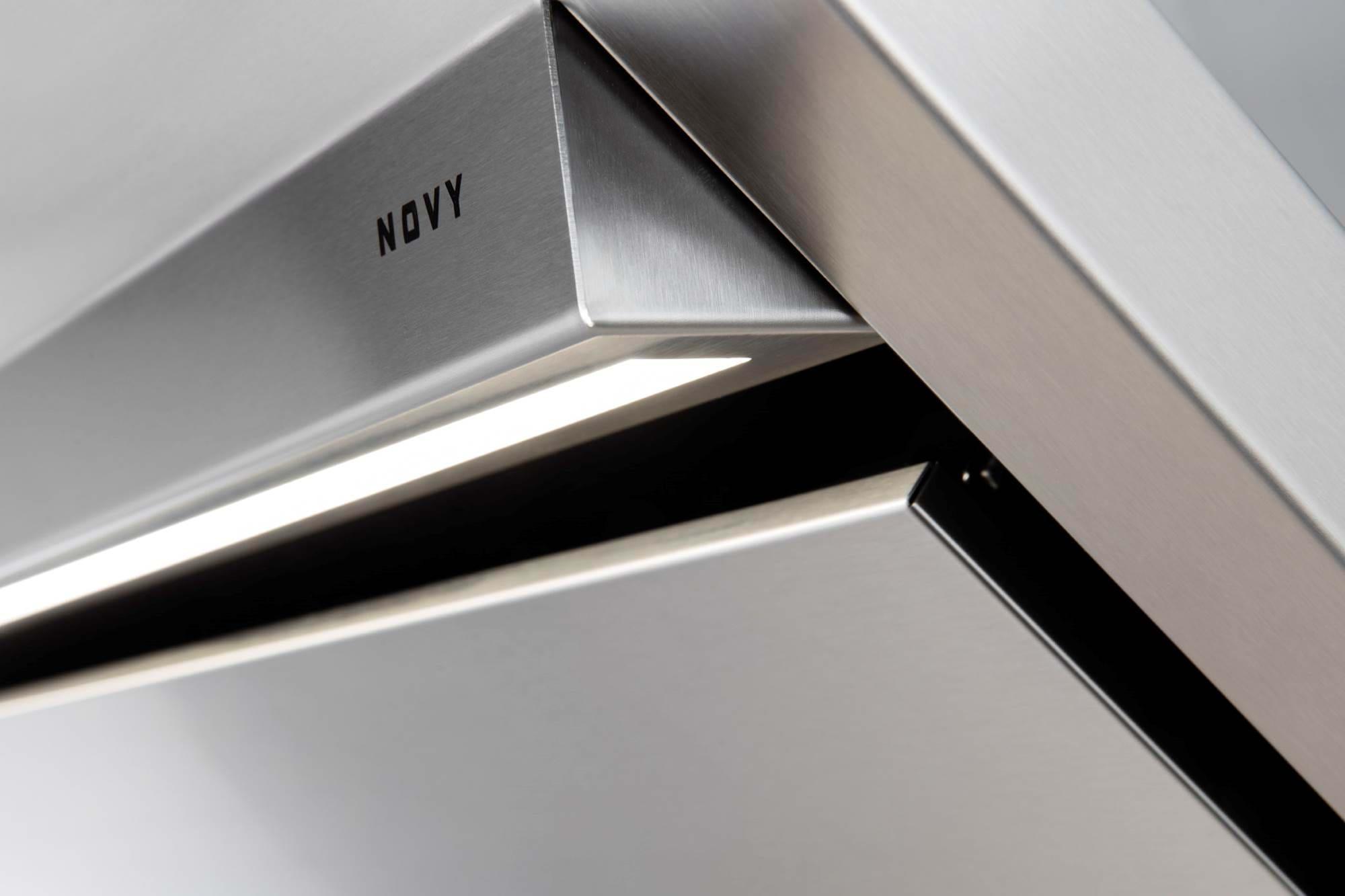 hotte novy pianos-et-fourneaux.com hotte murale inox detail
